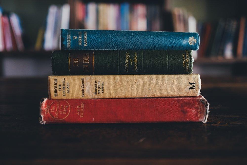 unsplash red green blue book spines.jpg