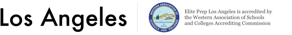 Los Angeles – Elite Prep Los Angeles is accredited by the Western Association of Schools and Colleges Accrediting Commission