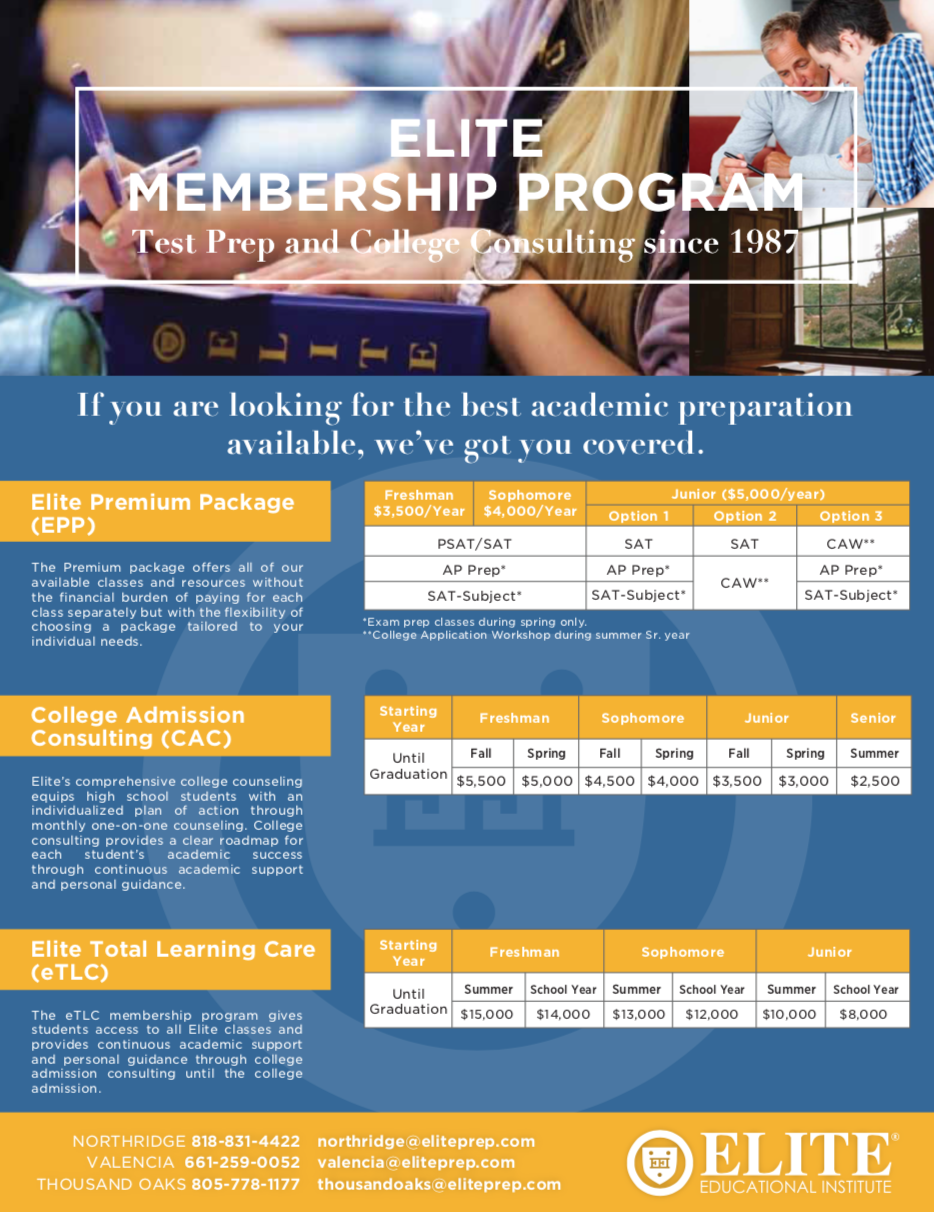 Elite Membership Program »