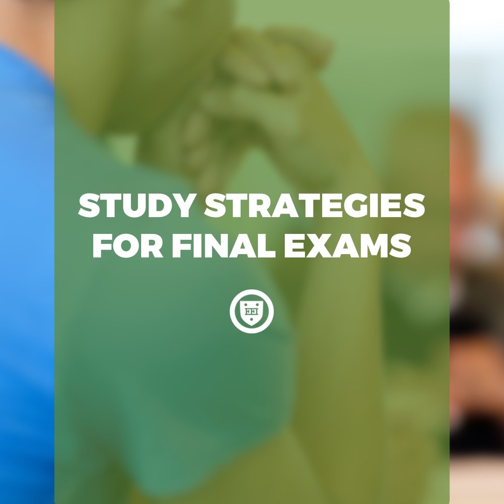Study Strategies for Final Exams