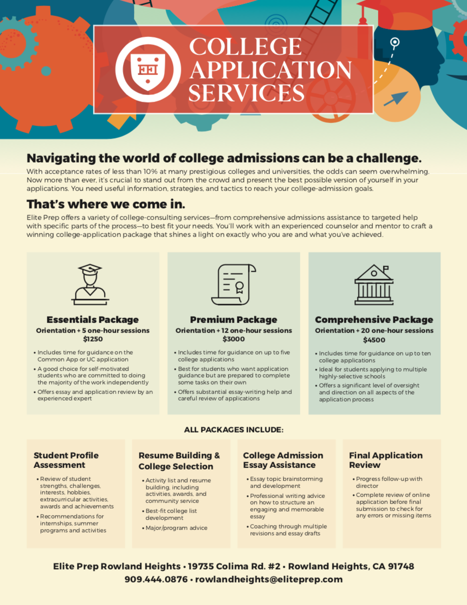 College Application Services »