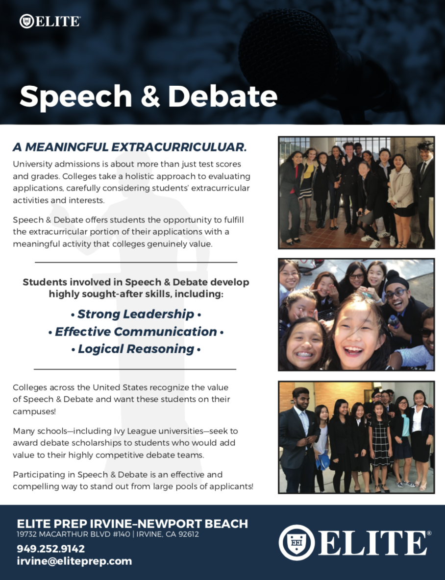 Speech & Debate »