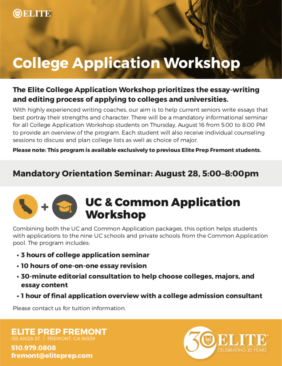 College Application Workshop »