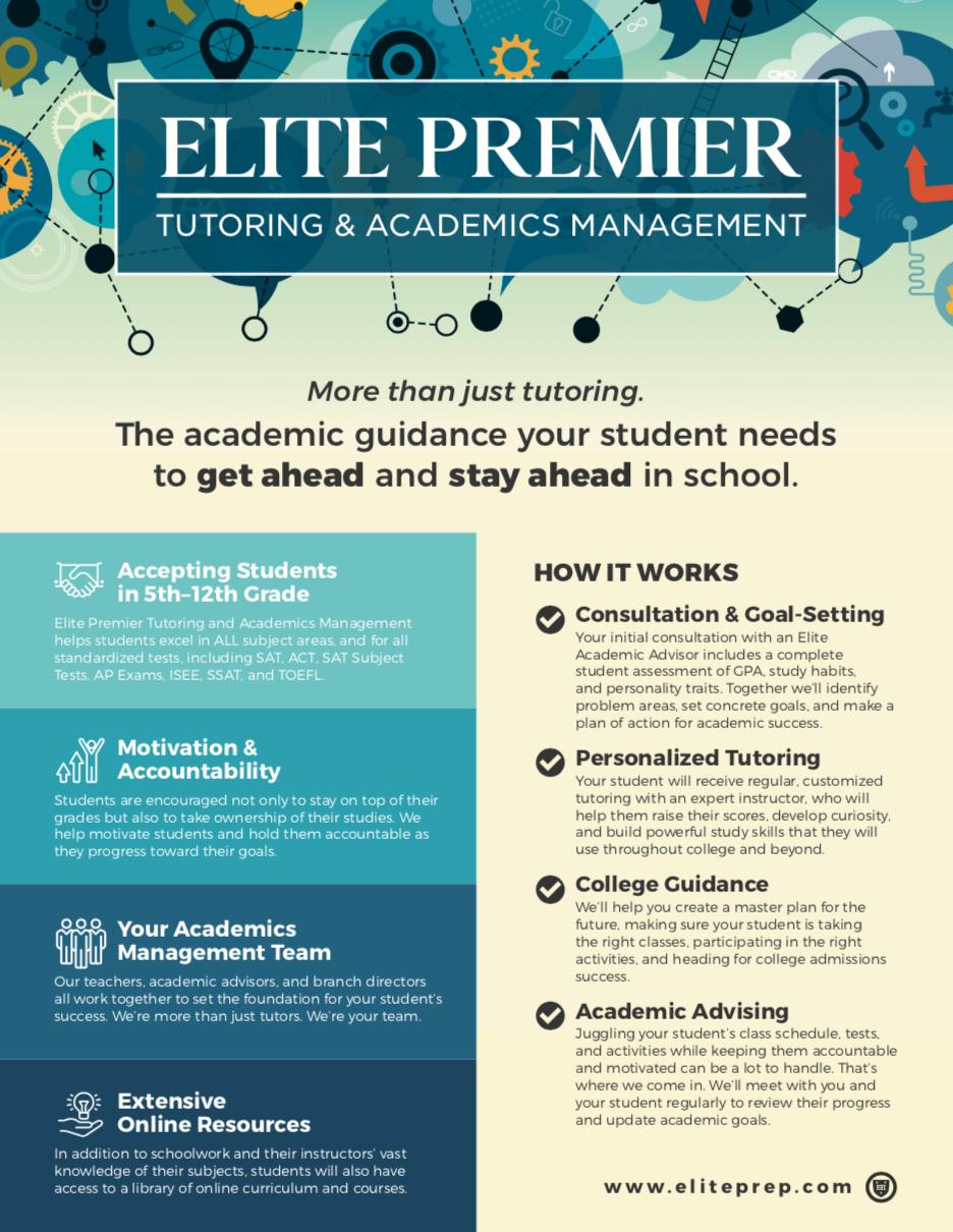 Elite Premier Tutoring & Academics Management