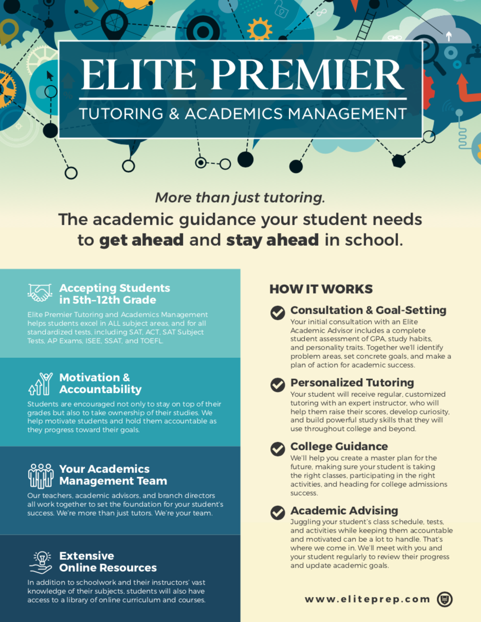 Elite Premier Tutoring & Academics Management