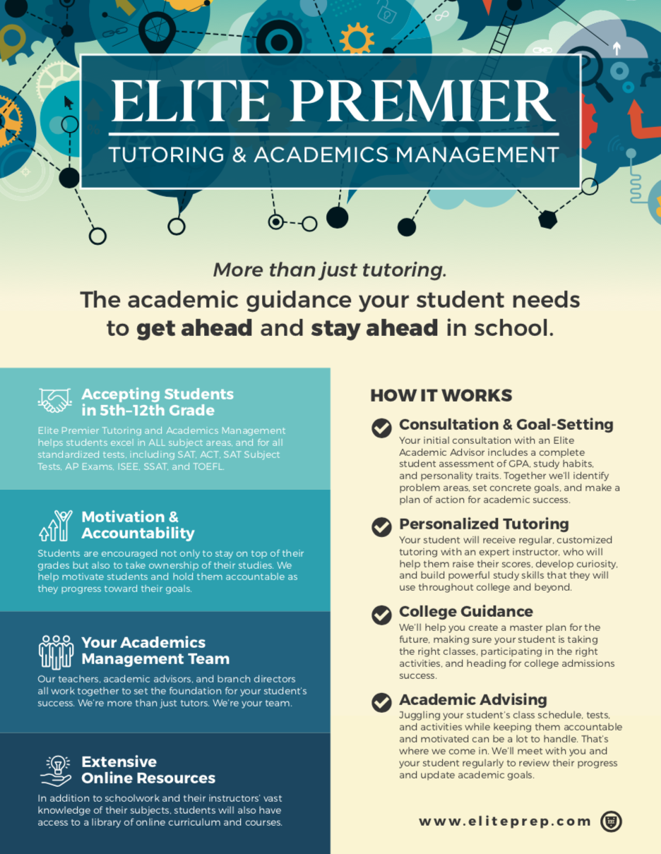 Elite Premier Tutoring & Academics Management »