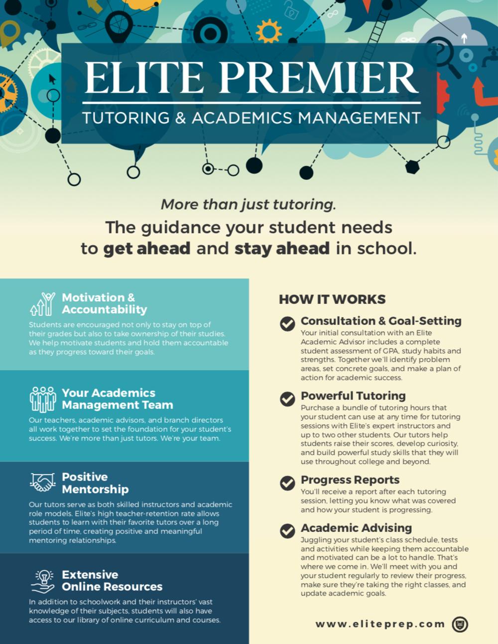 Elite Premier Tutoring and Academics Management »