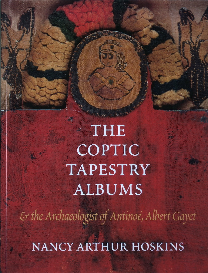 Book cover:   The Coptic Tapestry Albums  by Nancy Arthur Hoskins