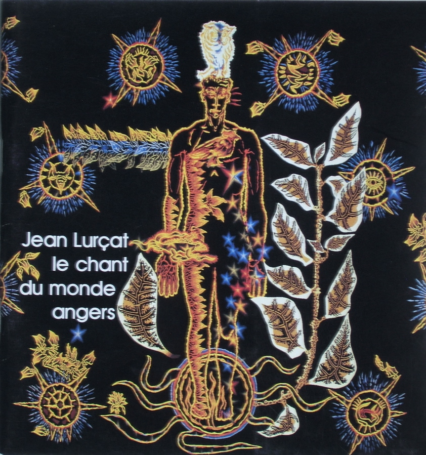 Book cover:  The Song of the World Tapestries       Angers, France