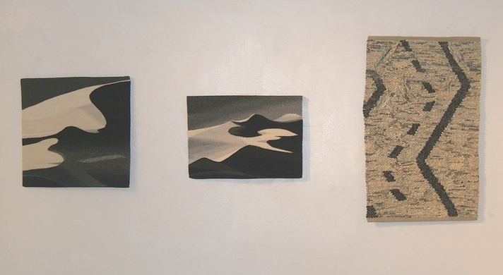 LInda Giesen  Desert Dunes  and  Shifting Sands;  Ann Blankenship  Route 66
