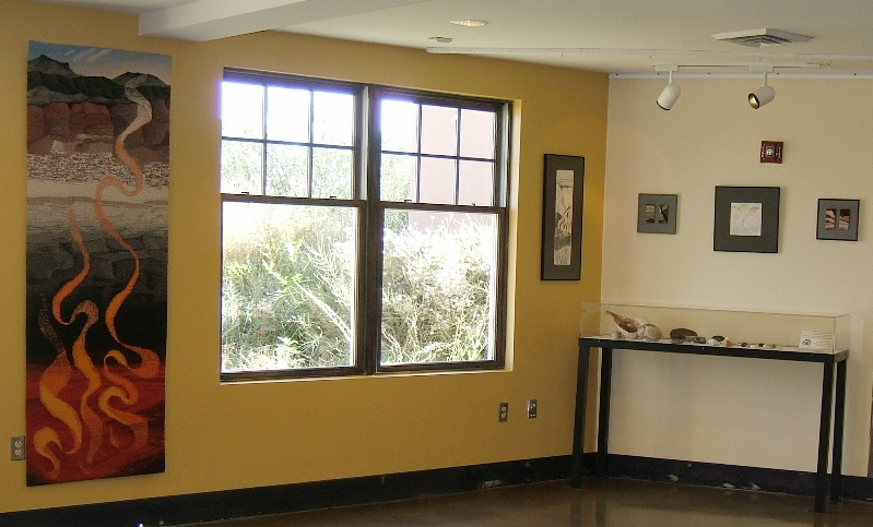 Northwest corner of the Reception Area Gallery