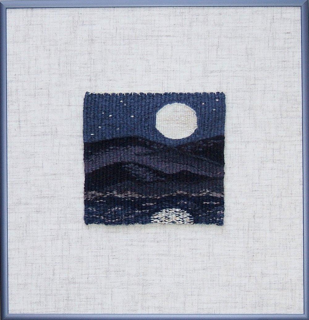 "Super Moon  10 3/8"" x 10 1/8"" ©2018 Elizabeth J. Buckley"