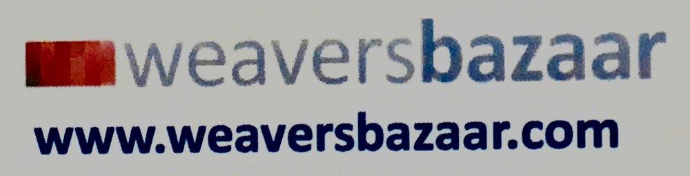 Label for Weavers Bazaar yarns