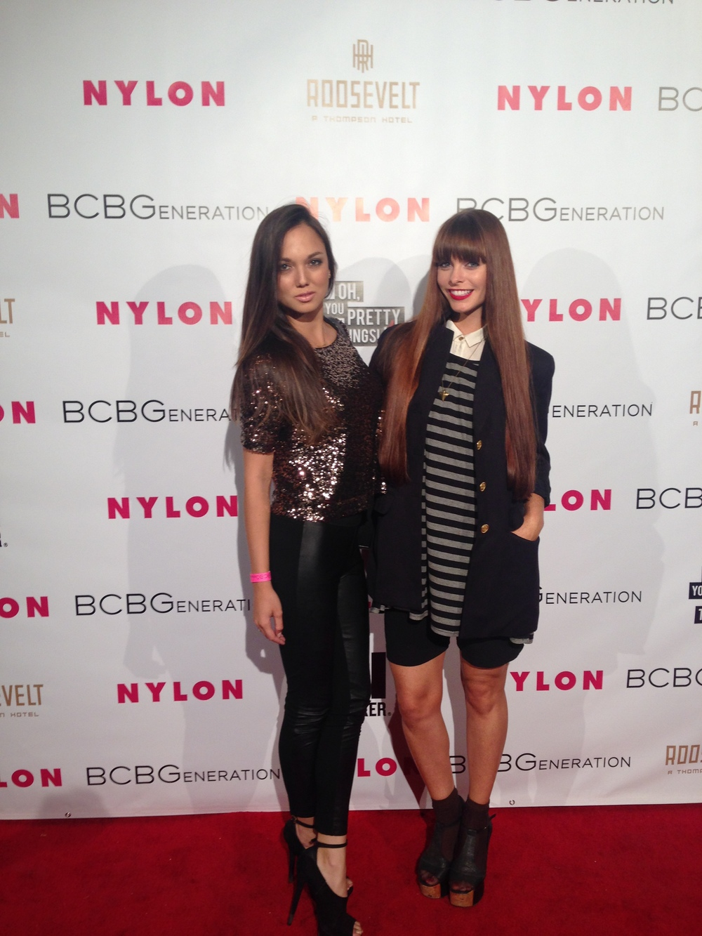The Nylon Magazine party in West Hollywood