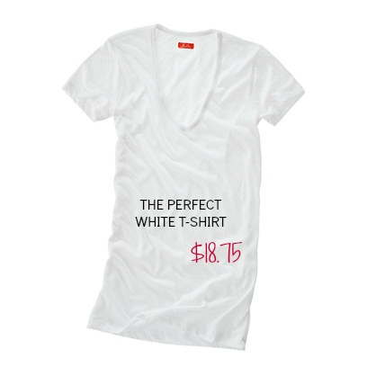the perfect white t-shirt — SNAPPY CASUAL