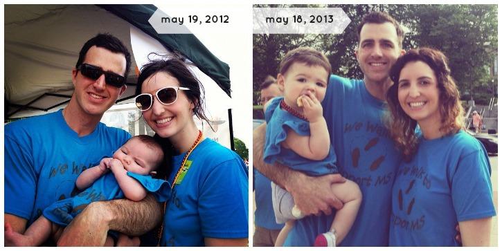 MS walk family photo