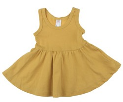 American Apparel skater dress  : This is a great layering piece for little girls! It comes in all sizes so I plan to continue to buy it as Roo grows. For baby gifts I usually go with the Dijon color in size 18-24 months.