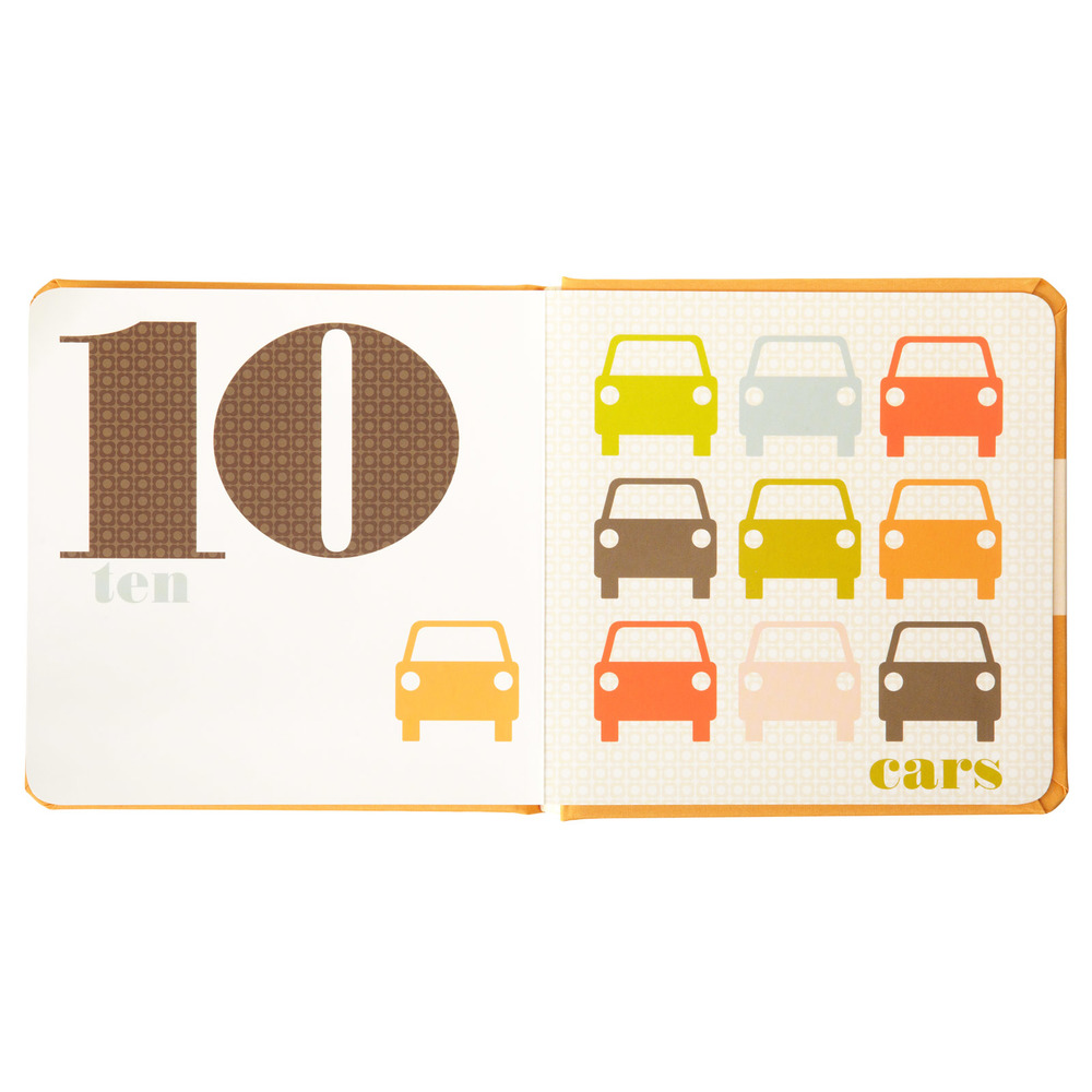 Orla Kiely board books  : Books are always a great gift, in my opinion. And if your gift recipient appreciates design, these are perfect! We have all four ( Colors ,  Numbers ,  Shapes  and  Creatures ) and they are some of our favorites.