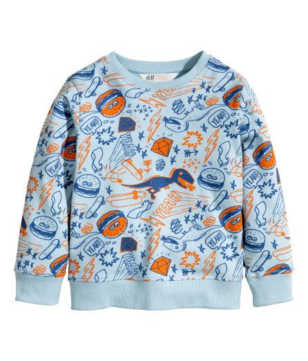 Printed sweatshirt  - $9.95