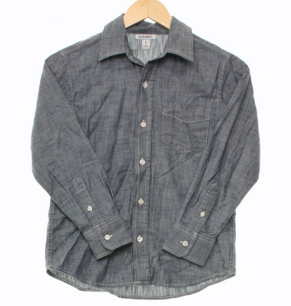 Old Navy chambray shirt // size M // $4.78