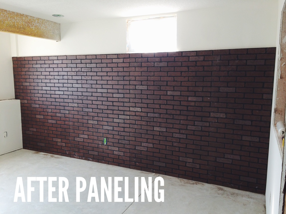 wainscoting square panels with Faux Brick Wall Panels 4x8 on Dining Room as well 75 Living Room Interior Design besides Faux Brick Wall Panels 4x8 as well 1000121647 furthermore Watch.