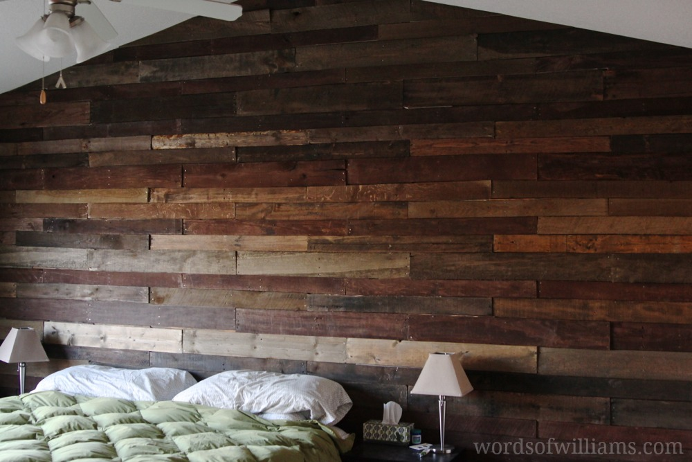 Build DIY Pallet Wall In 4 Steps The ART In LIFE