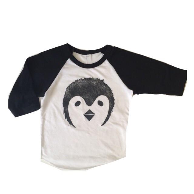 Penguin raglan($24)