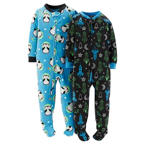 Footie pajamas  ($17)