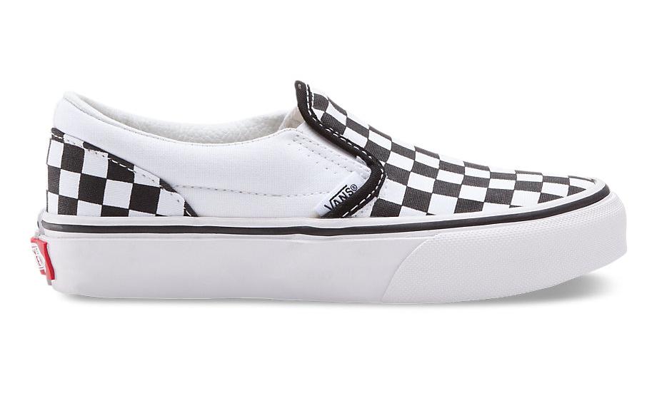 Checkerboard Vans ($35)