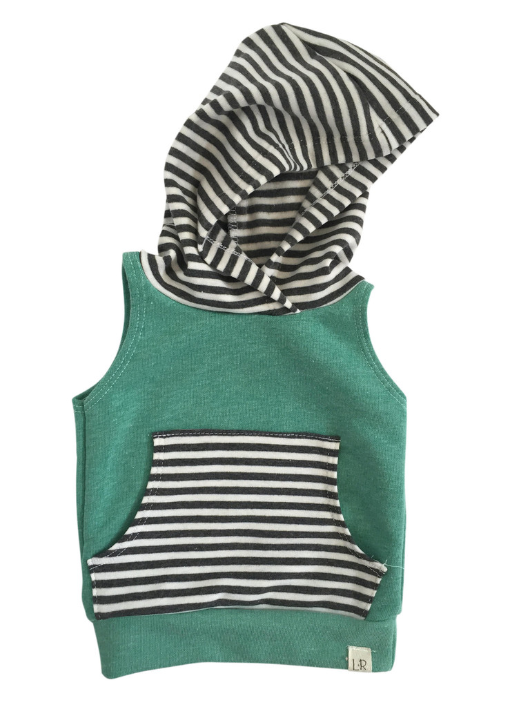 Lulu + Roo sleeveless hoodie$36