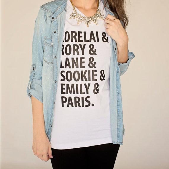 Girls of Gilmore graphic T-shirt ($24)