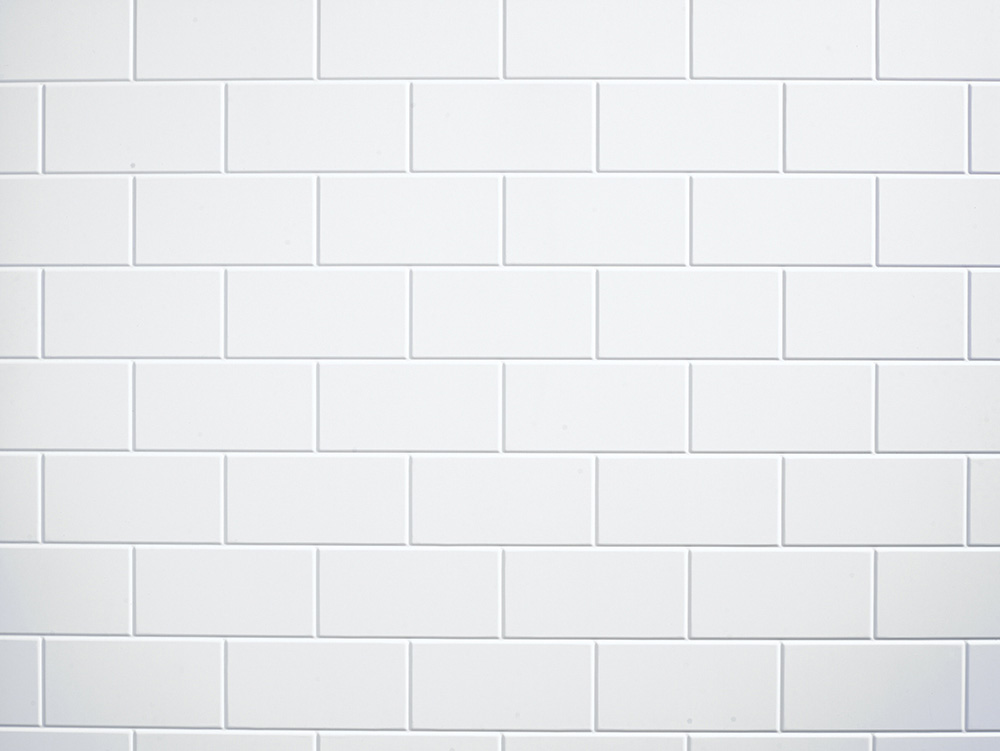 Subway tile  (walls)