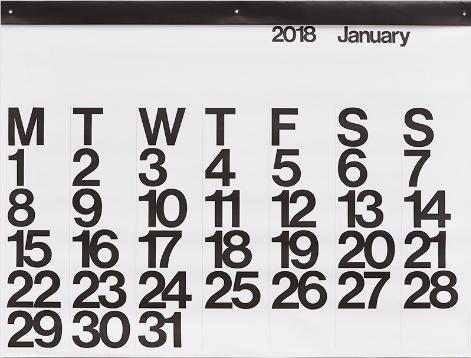 Stendig calendar $38 //  buy here
