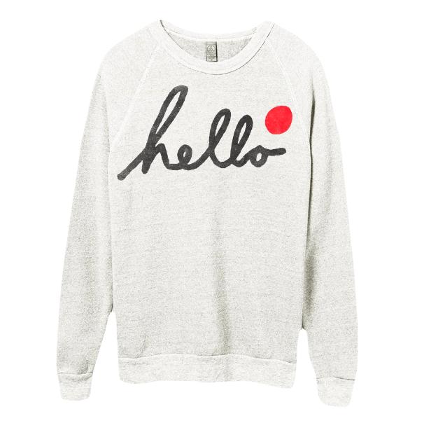 Sweatshirt $50 //   buy here