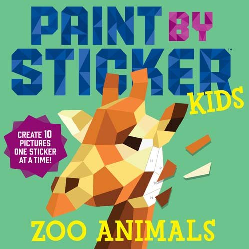 Paint by Sticker book $7 //   buy here