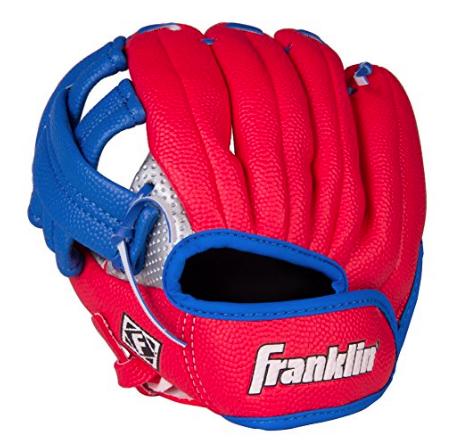 Left-handed baseball glove $11 //   buy here