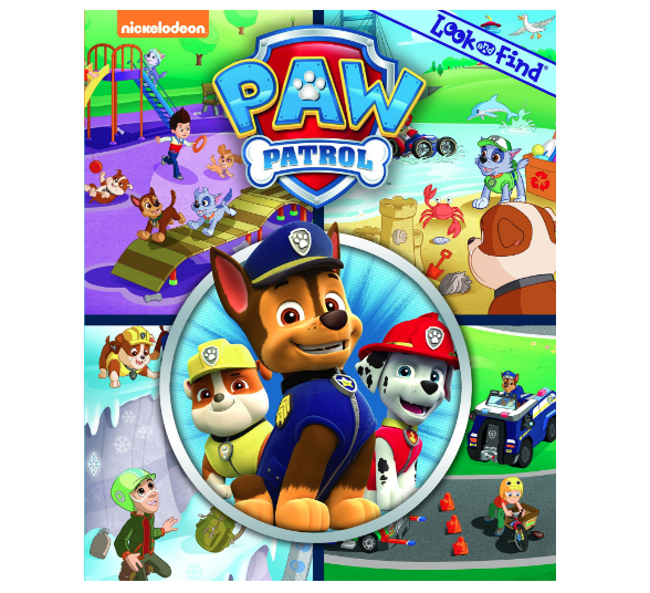 Paw Patrol look-and-find book $9 //   buy here