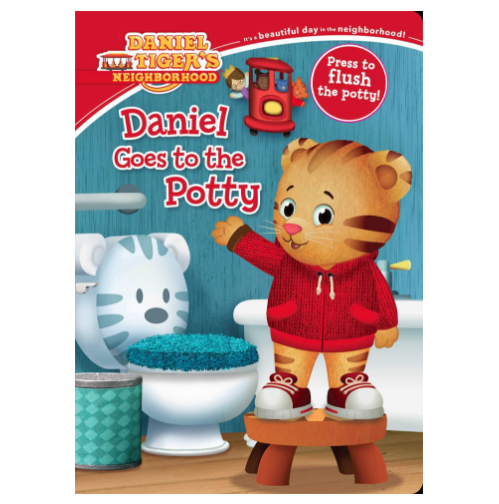 Potty training book $7 //   buy here