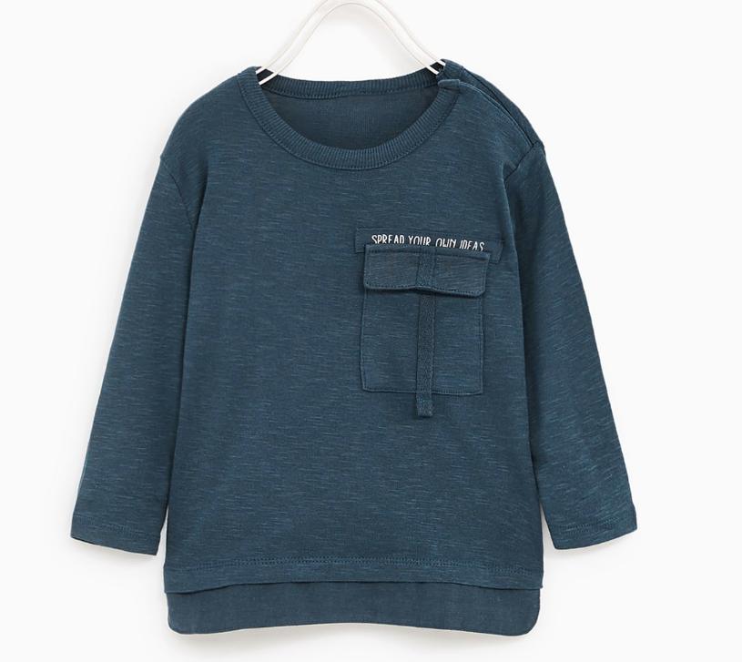 Long-sleeve shirt $8 //   buy here