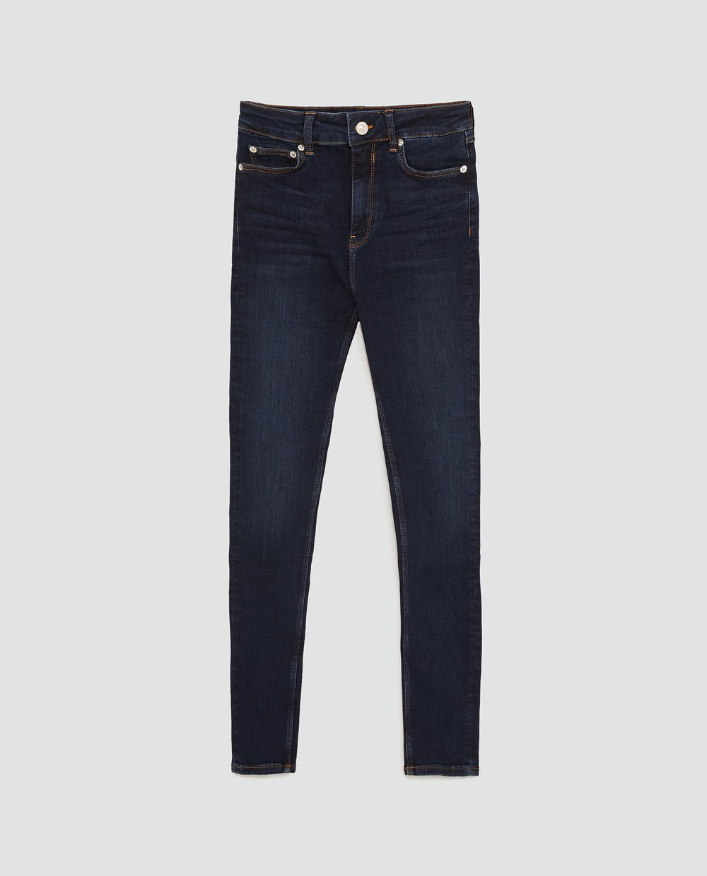 Zara jeans   have been my go-to lately for denim. I like the $49 price tag, and the Sophisticated line in particular features really soft fabrics. High-waisted, stretchy and skinny? Yes, please.