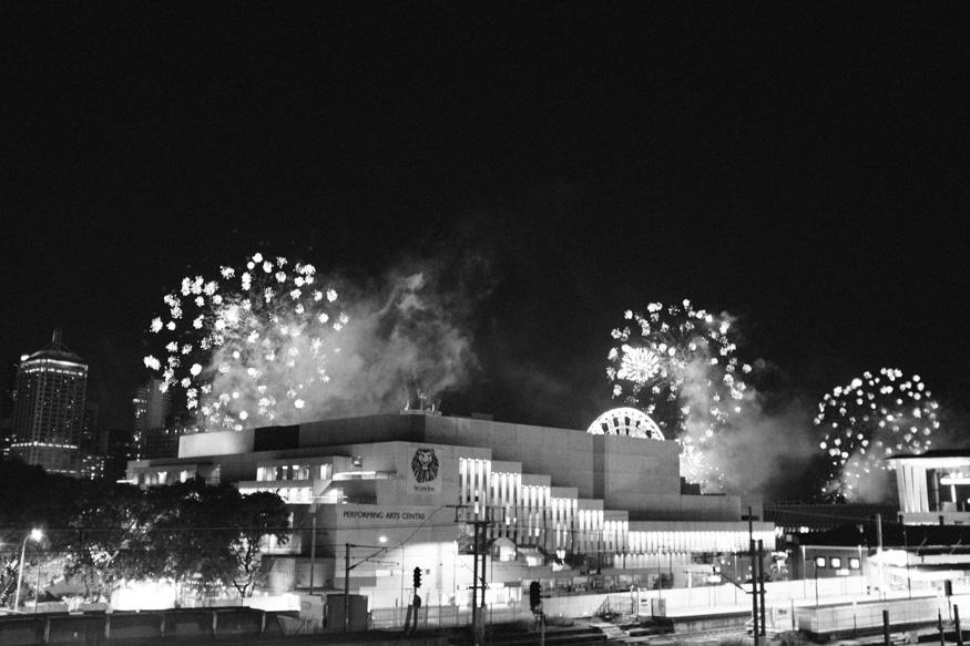 Australia Day Eve Fireworks