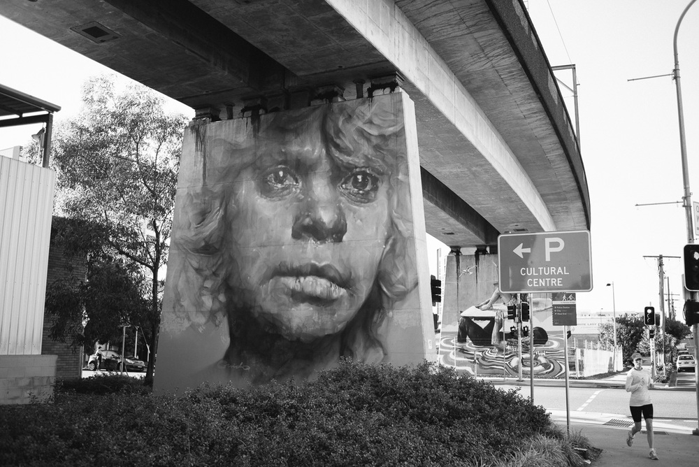Painting by Guido van Helten