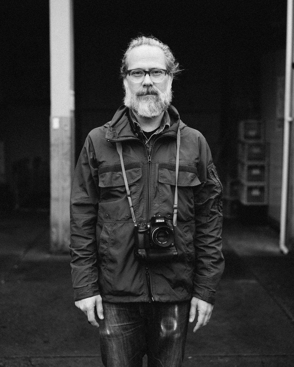 Simon with his Nikon D600 / Sigma 50mm ART camera