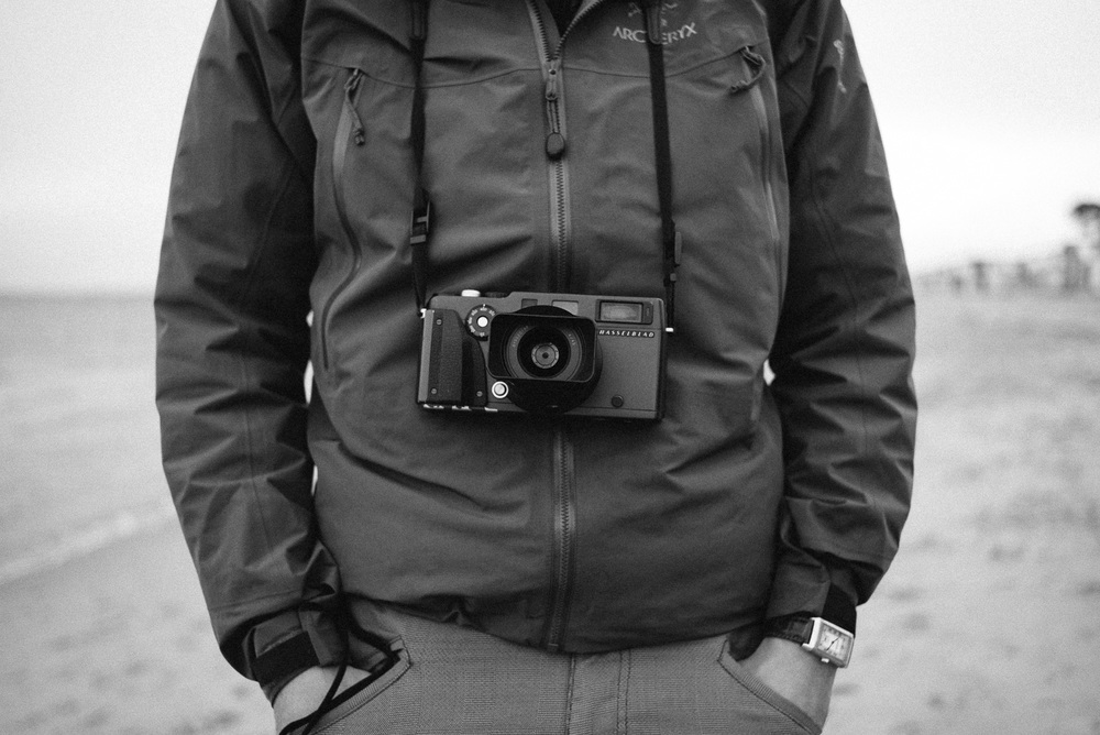 Rocky's Hasselblad X-Pan loaded with Kodak TRI-X.
