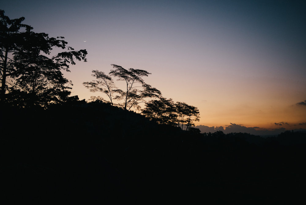 Dusk in Sidemen, Bali near Mount Agung. Shot on Leica M Typ 240 with Summarit 35mm f/2.5 lens.