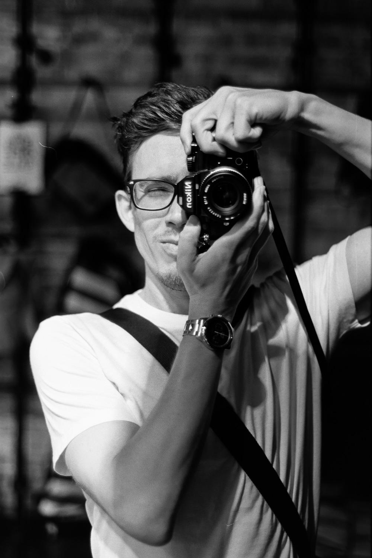 ROLL103AA020-Nick-Bedford,-Photographer-Black and White, Brisbane, Film, Film Scanning, Fuji Acros 100, Nikkor 50mm F1.8 AI-s, Nikon FA, Pakon F135+, Portrait, Rodinal, Summer, West End Camera Club.jpg