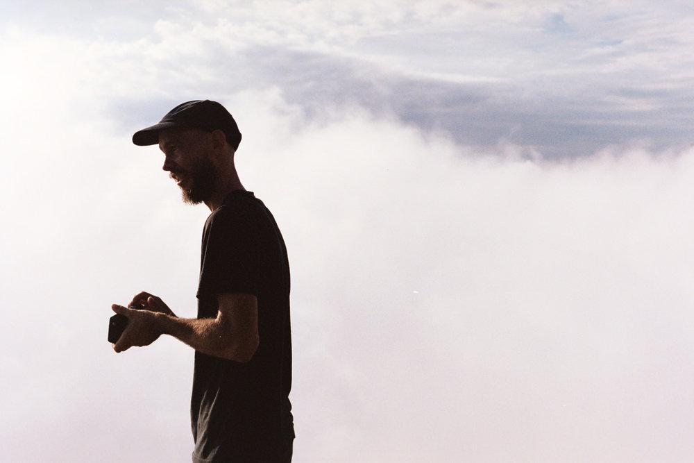 Jeremy atop Mount Cordeaux.