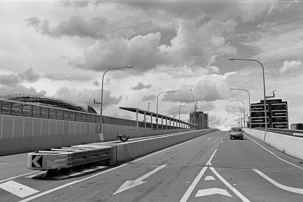 Go Between Bridge, Kodak TRI-X.