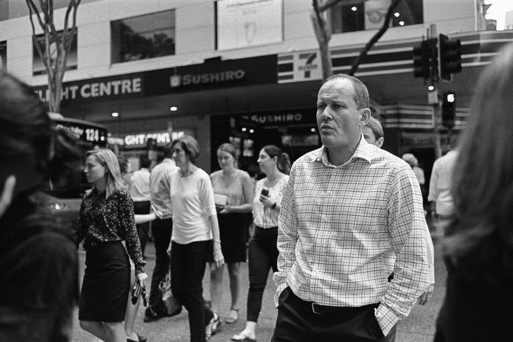 AA024-Nick-Bedford,-Photographer-Black and White, Brisbane, Film, Film Scanning, Kodak Tri-X 400, Nikkor 35mm F2 AI-s, Nikon FA, Pakon F135+, Rodinal, Street Photography, Summer.jpg