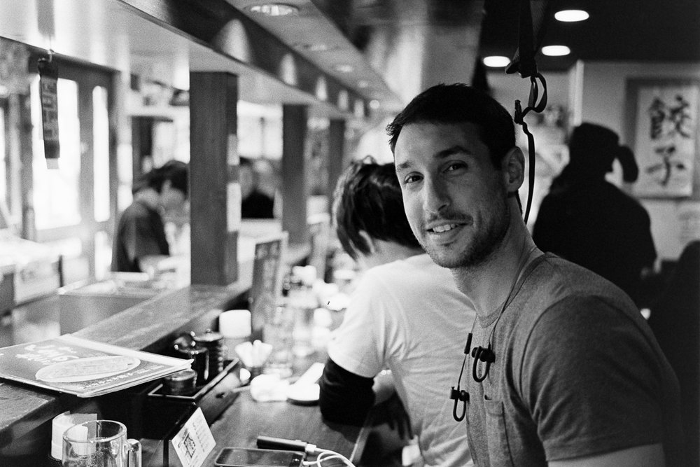 Tomer, an Israeli from Tel Aviv, who I chatted to while eating at Chao Chao Gyoza, Kyoto.